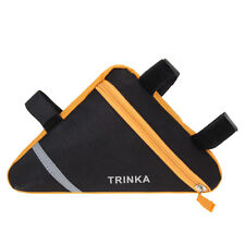 JN/_ Cycling Bicycle Bag Front Triangle Frame Top Tube Triangle Pouch For MTB B