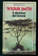 SMITH WILBUR IL DESTINO DEL LEONE MONDADORI 1986 OSCAR BESTSELLERS 29