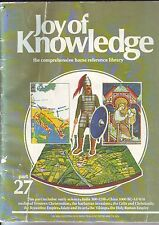 "COLLECTOR'S BOOK "" JOY of KNOWLEDGE "" HOME REFERENCE LIBRUARY 1961 _ USED"