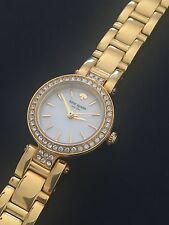 Kate Spade NY 1YRU0723 Women's Gramercy Tiny Mini Gold Tone Crystal Watch
