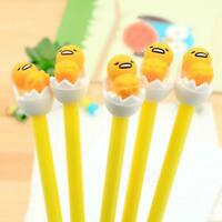 0.38mm Lazy Egg Gudetama Gel Ink Pen Pens Gift Stationery hot new
