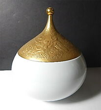 Rosenthal MAGIC FLUTE Gold Sarastro Covered Vegetable Bowl, Bjorn Wiinblad, NEW