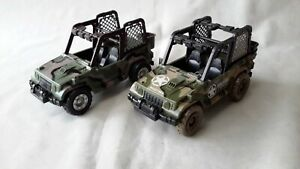 Chap Mei Soldier Force Military Action Jeep Buggy x 2 Spares Repair Custom