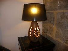 Lampe en céramique par Musarra, Vallauris, circa 1950