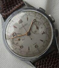 Excelsior Park Chronograph mens wristwatch nickel chromiun case load manual