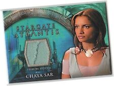 Stargate Atlantis Season 1 (One) - Leonor Varela - Chaya Sar Costume Card