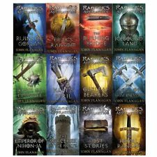 Rangers Apprentice 12 Books Series 1-2 Young Adult Paperback By John Flanagan
