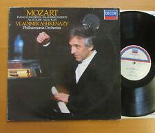 SXL 7010 Mozart Piano Concertos 15 & 16 Ashkenazy Philharmonic NM/VG Decca
