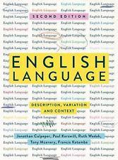 English Language : Description, Variation and Context (2018, Paperback)