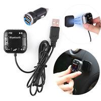 Bluetooth Auto KFZ FM Transmitter SD/USB MP3 Musik Player Freisprechanlage AUX