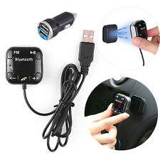 Bluetooth Auto  FM Transmitter KFZ SD/USB MP3 Musik Player Freisprechanlage AUX