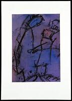 DDR-Kunst/Informel 1987. Mischtechnik Hans WINKLER (1919-2000 D), handsigniert