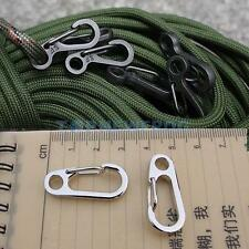 1pc Carabiner Clip Snap Hook Small Keyring Keychain Camping Sport Karabiner Tool