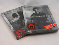 The Expendables 2 Bluray Steelbook Double Pack Saturn Lenticular Germany