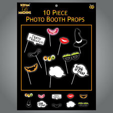 10 x Halloween Photo Booth Face Photo Props Party Activity Ideas Trick or Treat