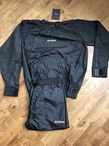 Boxraw Hagler Sauna Suit Black - Medium