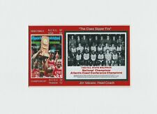 North Carolina State Wolfpack matted pic of 1983 NCAA Champs team & S.I. COVER