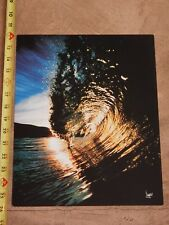 "Original 1970s Surfing Photo Poster David ""Woody"" Woodworth, 11"" X 14"" (A)"