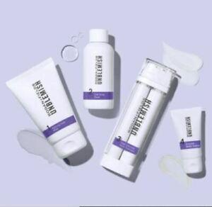 New Unblemish Regimen Acne wash toner treatment SPF30 moisturizer