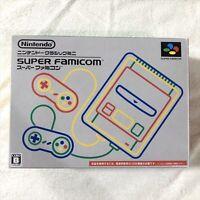 Nintendo Classic Mini Super Famicom Gray console SNES SFC Used Tested Boxed Used