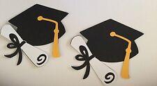 Graduation Cap With Tassel & Diploma Die Cut Handmade With Cardstock