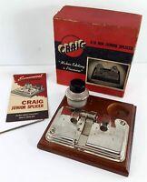 CRAIG Movie Supply Company Vintage 8mm -16mm Junior Splicer