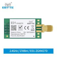 Nrf24l01ppalna Wireless Rf Transceiver Module E01 2g4m27d 27dbm Spi 24ghz 5km