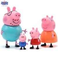 Peppa Pig Figuras Lote de 4 figuras Ninos Juguetes Dibujos Animados Divertido