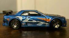 Hot Wheels 2002 First Editions 019 Nissan Skyline Blue 5-Spoke Wheels 1/64 Loose