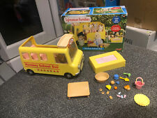 sylvanian families Nursery School Bus Accessories Boxed