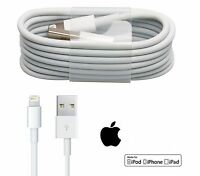 AAA QUALITY;For Apple i-phone 6 & 6S 7 5,5S,5C& i-pad Air USB charger cable/UK