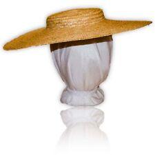 """Austentation Jane Austen Georgian Regency Plain Blank 15"""" Bergere Straw Hat Diy"""