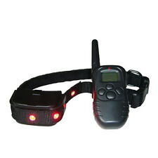 2016 Electronic No Anti Bark Shock Vibra LCD Remote Control Pet Dog Train Collar