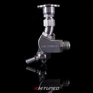 K-Tuned K20 Upper Coolant Housing w/ Filler Neck - Includes Hose End and 16AN