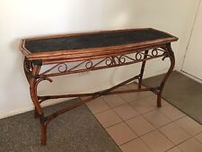 Cane Console - Hall Table - paint for shabby chic / french provincial look?