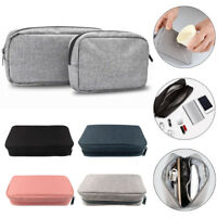 Portable Electronics Accessories Organizer USB Cable Drive Bag Travel storage