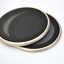 "Universal 6.5"" Speaker Coaxial Steel Mesh Grills Cover Gold Woofer Mask Cover"