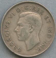 1944 Far 4 Canada Silver Half Dollar