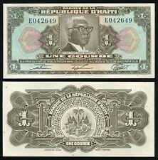 HAITI - 1 Gourde 1979 Banknote Note - P 230 P230 (UNC)