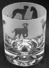 More details for hungarian vizsla frieze boxed 30cl glass whisky tumbler