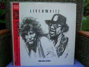 RONNIE  WOOD  &  BO  DIDDLEY  :  LIVE At The RITZ   / JAPAN Pressing with  MINT