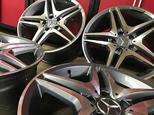 MERCEDES 19 IN E63 RIMS WHEELS SET4 NEW 19/8.519/9.5 EXCLUSIVE E350 E550 FIT AMG