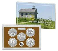 2020 S UNITED STATES MINT AMERICA THE BEAUTIFUL QUARTERS PROOF SET AS ISSUED !!!