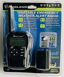 MIDLAND HH54VP Portable Emergency Handheld Weather Alert Radio - New (Sealed)