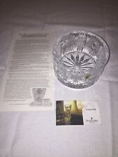 Waterford Crystal Millennium Champagne Bottle Coaster IRELAND / MINT / BOXED