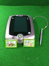 LeapFrog LeapPad 2 Explorer Tablet w / 2 Games ✅
