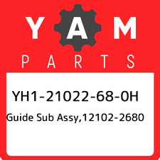 YH1-21022-68-0H Yamaha Guide sub assy,12102-2680 YH121022680H, New Genuine OEM P