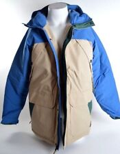 Billabong TORFINO 5K/8K Mens Snap/Zip Front Parka Hoodie Jacket Large Sand NEW