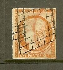 "FRANCE STAMP TIMBRE N° 5 "" CERES 40c ORANGE "" OBLITERE TB"