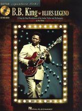 Signature Licks B.B. King Blues Legend Learn Play Guitar TAB Music Book & CD